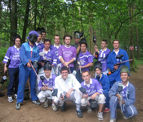 Jouer au paintball